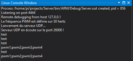 Console distante SSH de Microsoft Visual Studio 2017 RC