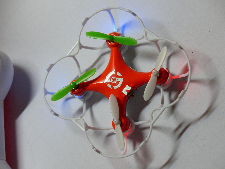 Mon drone avec sa protection