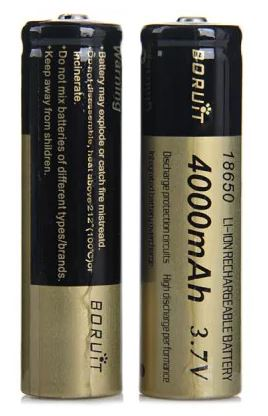 Batterie Li-Ion 3.7 V 4000 mAh