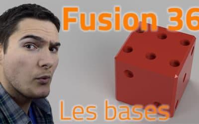 FUSION 360 – Les bases pour bien débuter sur Fusion 360 [1/10] [VIDEO]