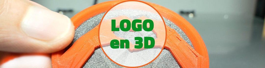 Fusion 360 : Logo en 3D avec 2 couleurs