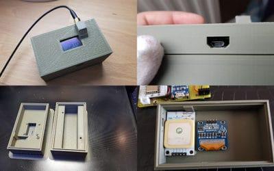ESP8266, serveur web et module GPS