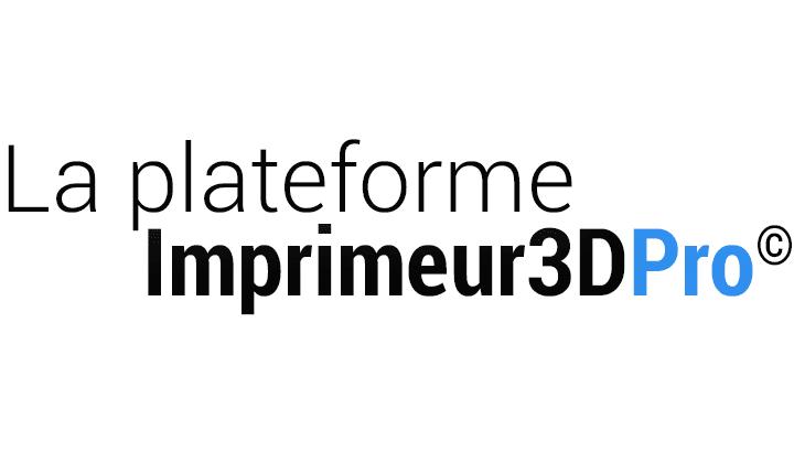La Plateforme Imprimeur3DPro